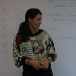 Саблина Татьяна на тренинге по скриптам