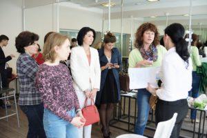 Встреча директоров салонов и клиник. Ведущая Саблина Т.В,