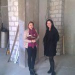 Строим новый салон!) Татьяна Венецкая - владелец будущего салона и Татьяна Саблина. Обсуждение планировки